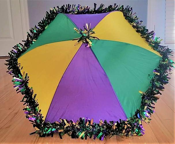 Amazon Com New Orleans Mardi Gras Second Line Umbrellas Handmade