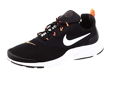 half off a6aaf bedc0 Nike Mens Presto Fly JDI Competition Running Shoes, Multicolour  (WhiteBlackTotal