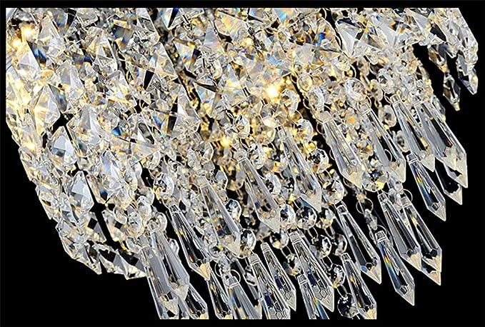 Mini Kristall Kronleuchter In Einer Glühbirne ~ Dellemade mini licht kristall kronleuchter modern deckenleuchte