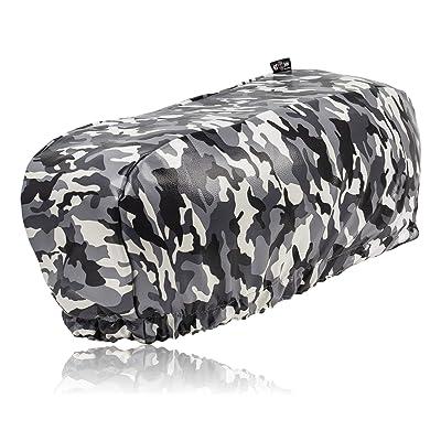 EL JEFE Snow Camo Winch Cover Fits 8000-13000 lb. Winches: Automotive