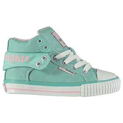 brand new 54834 16aba British Knights ROCO PU Kinder Turnschuhe High Sneaker ...