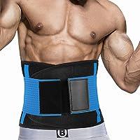 Taille Trainer Voor Dames En Heren, Neopreen Zweetband Taille Trimmer Riem Afslanken Maag Wrap Voor Workout, Taille…