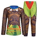 Maui Little Boys Pajamas Sets 2 Piece For Kids Clothes Toddler Pjs Sleepwear Moana