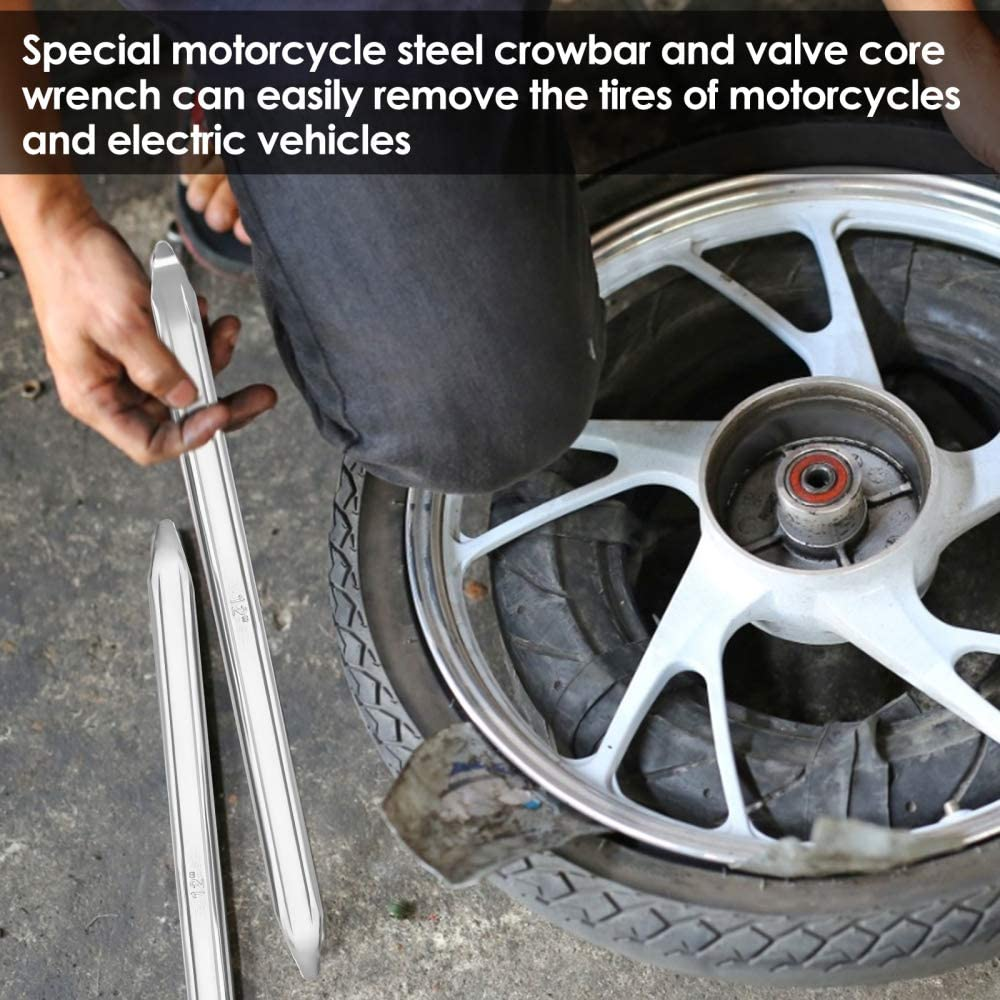 AellerSen Motorcycle Tire Mounter Mmain Body with 1 20mm Shaft Tyre Installation Tool with 20mm Axle Shaft for Motorcycles and Off-Road Vehicles