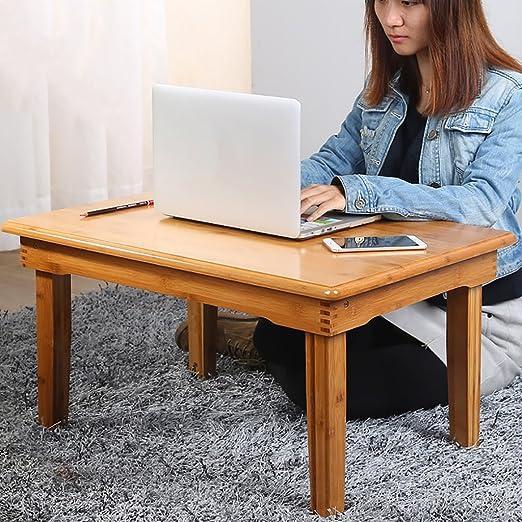 Mesa de Madera Escritorio de la computadora Cama Plegable Lazy ...