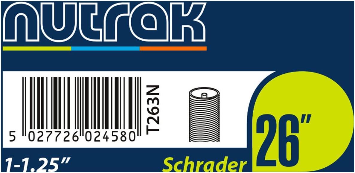 environ 6.10 cm Schrader Tube Intérieur Nutrak 26 X 2.1-2.4 in