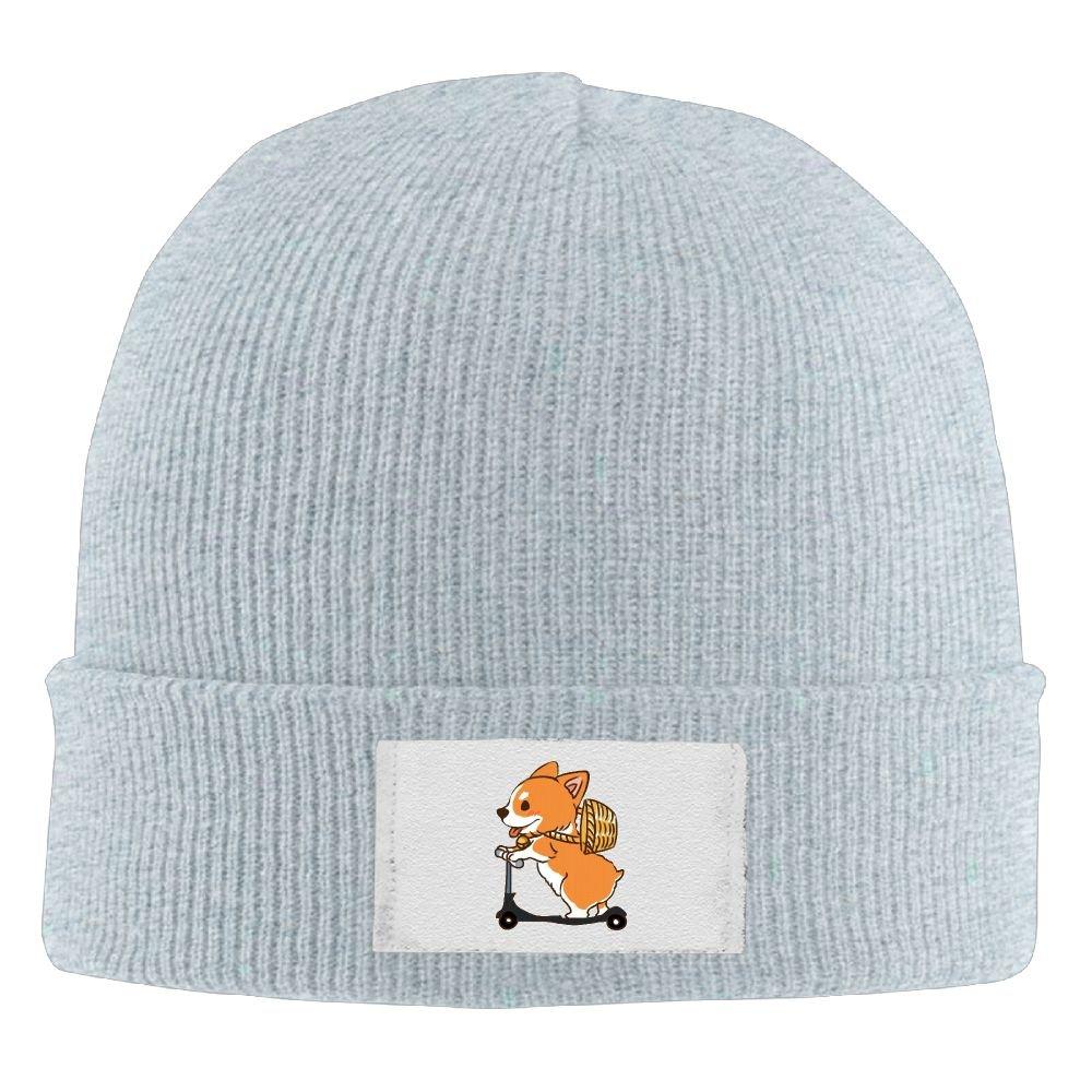 Amazon.com  Corgis Workout Men Slouchy Beanie Hats Winter Wool Cap  Clothing 4af6fc6aa68