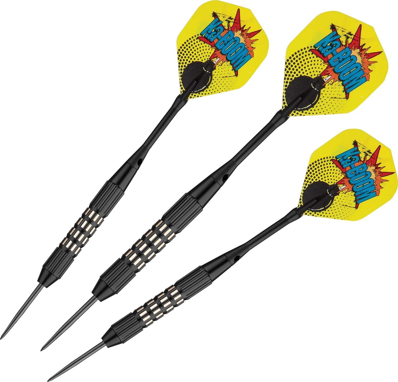 Viper Comix Steel Tip Darts Ka Boom Black 22 Grams Sports Outdoors Amazon Com