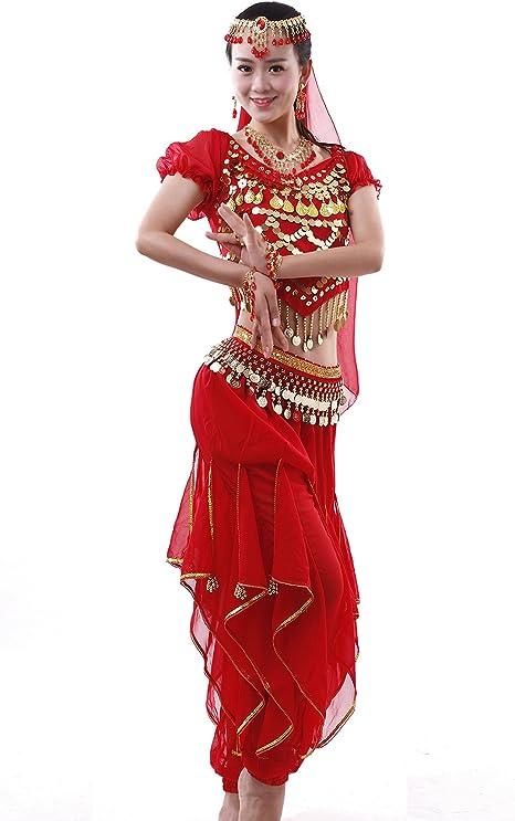 Disfraz de danza del vientre Astage, para mujer, disfraz indio ...