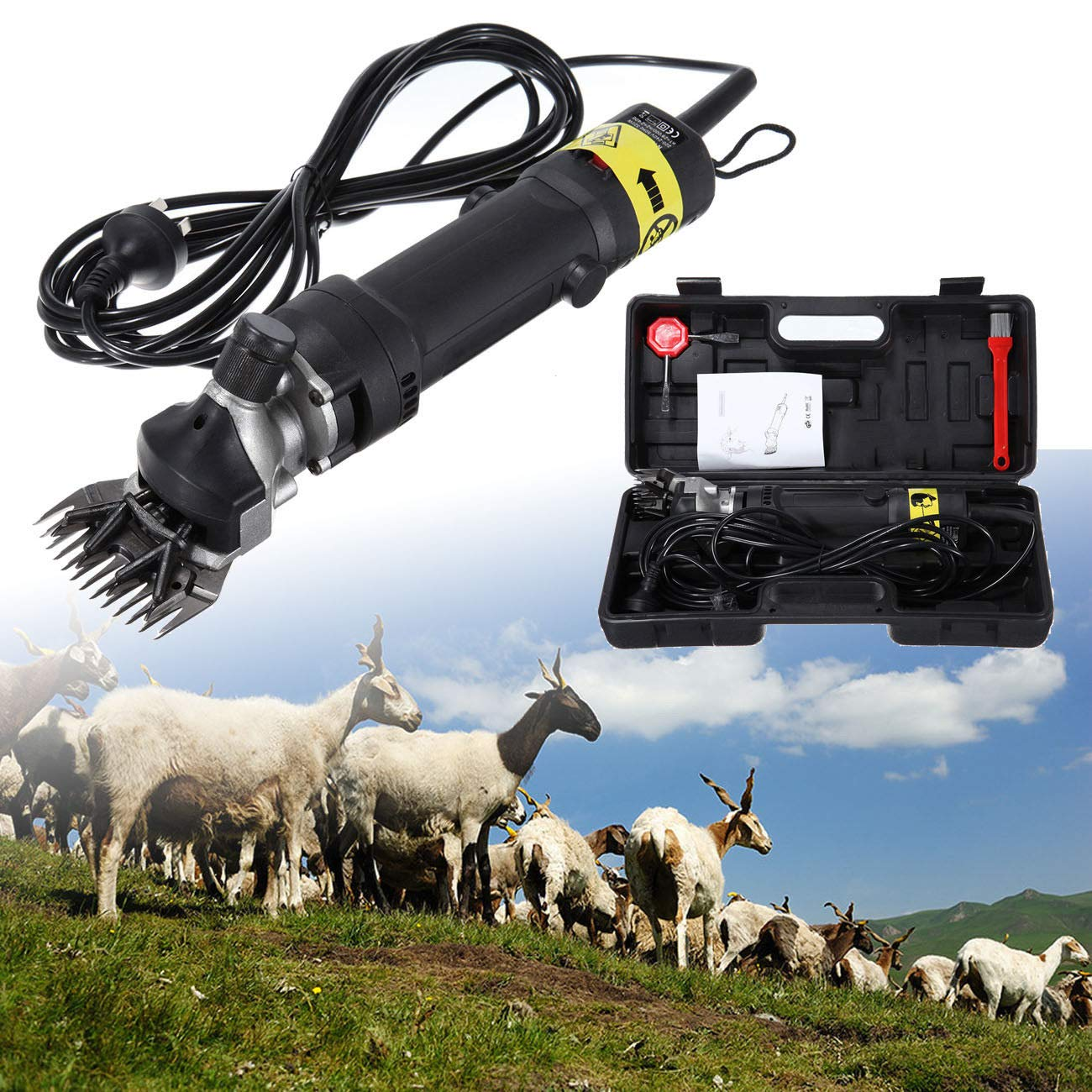 Ridgeyard Electric Farm Supplies Animal Grooming Shearing Clipper Sheep Goat Shears for Livestock Farm Supplier (320) by Ridgeyard