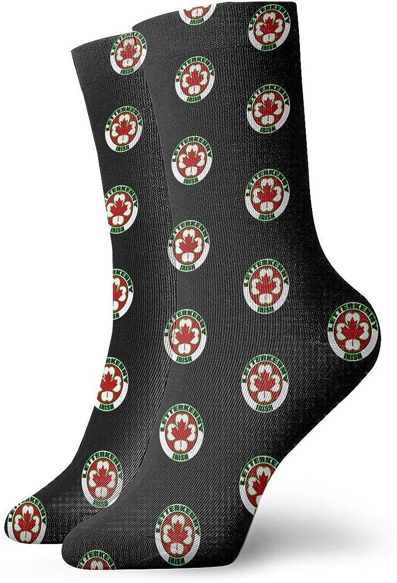 Letterkenny-Irish Socks Womens Comfort Crew Sock Mens Moisture Wicking Crew Sock
