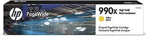 HP 990X   PageWide Cartridge High Yield   Yellow   M0J97AN