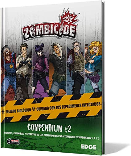 Edge Entertainment- Zombicide Compendium #2, Color (EECMZC07): Amazon.es: Juguetes y juegos