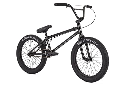 amazon com eastern bikes bmx bike 2018 eastern nagas black