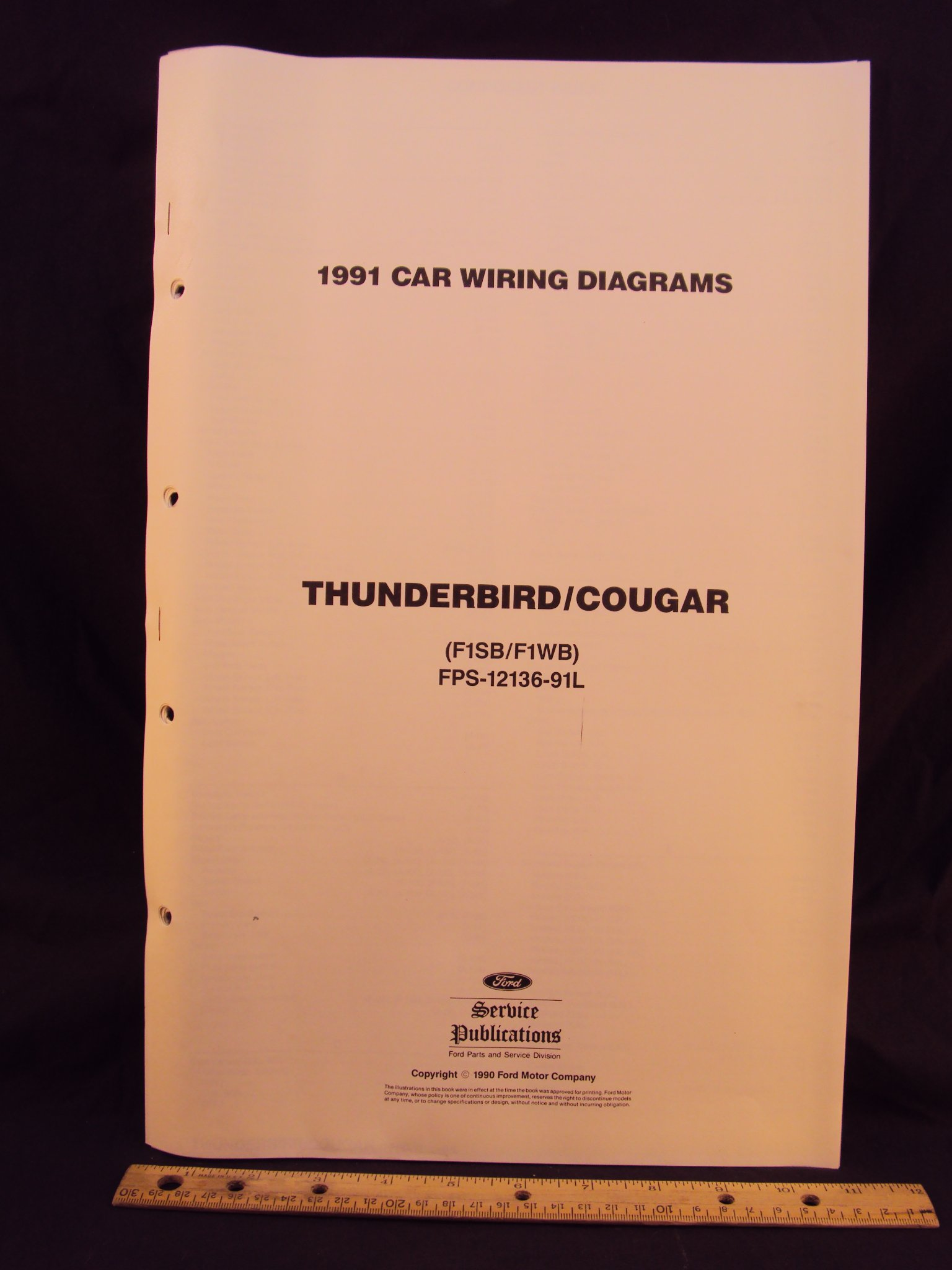 1991 Cougar Wiring Diagram Wiring Diagram