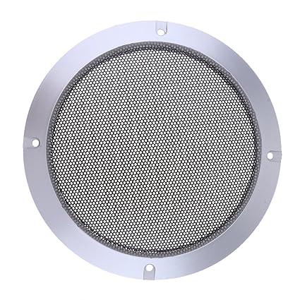 10-Zoll-Lautsprecher grillt Abdeckung mit Schrauben Silber