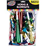 Mega Pack Horns and Blowouts 50ct [Toy]