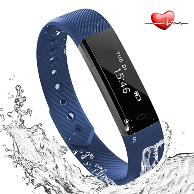36 opinioni per Braccialetto Sport Fitness Tracker Cardiofrequenzimetro, Lemebo Fitness Activity