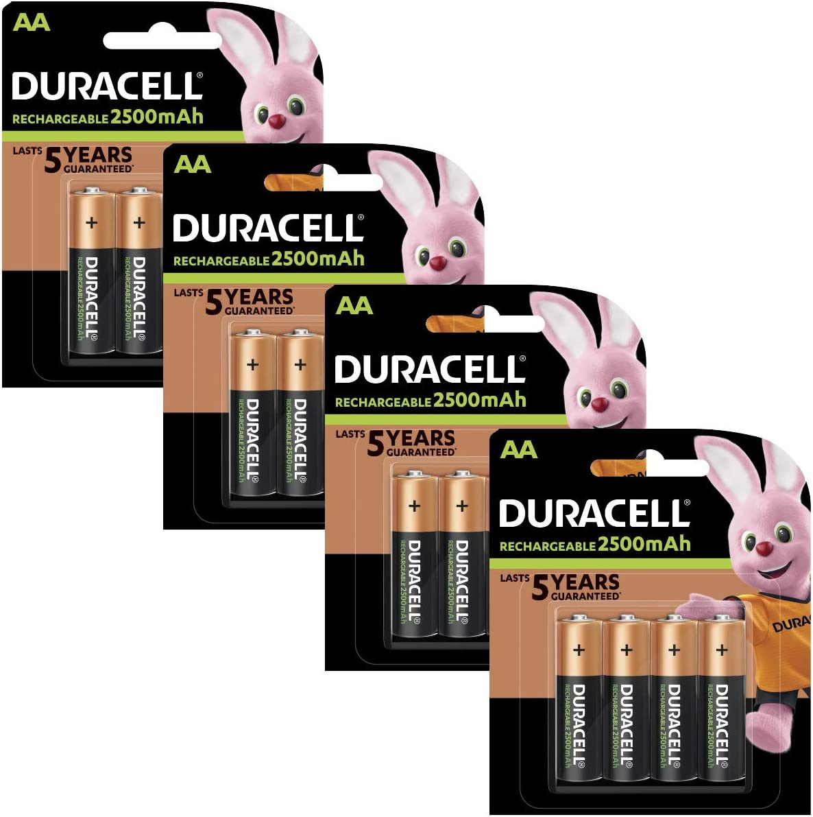 Duracell Pre Charged Rechargeable 2400mah Aa Batteries Elektronik