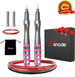 Win A Free SNODE T11 High Speed Jump Rope (2019 New) - Self-Locking...