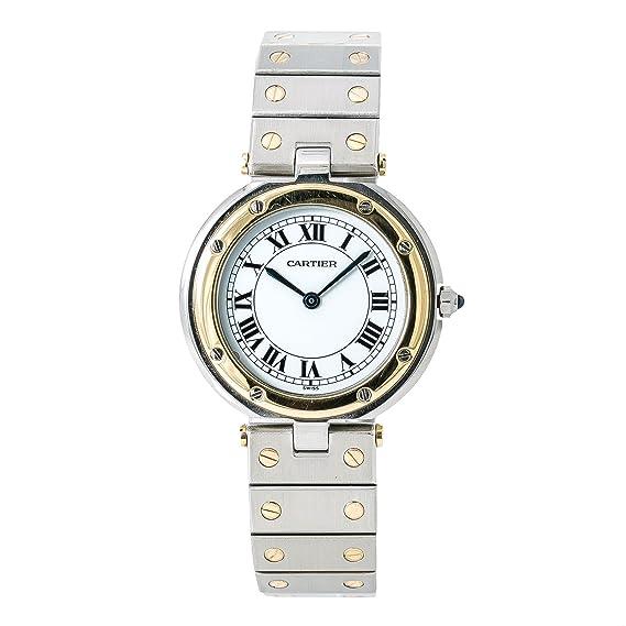 Cartier Santos de Cartier Cuarzo Mens Reloj (Certificado) de Segunda Mano: Cartier: Amazon.es: Relojes