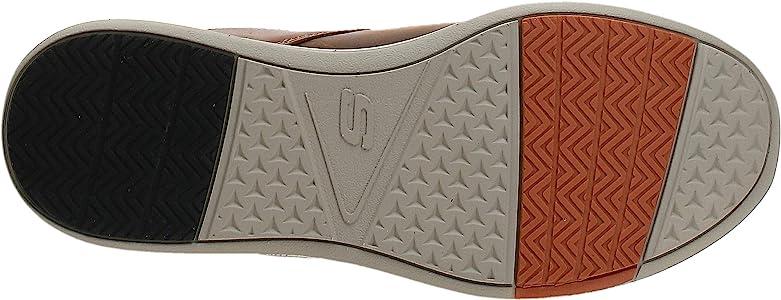 Se asemeja Incorrecto triple  Amazon.com   Skechers Men's ELENT-Leven Boat Shoe, CDB, 7 Medium US    Loafers & Slip-Ons