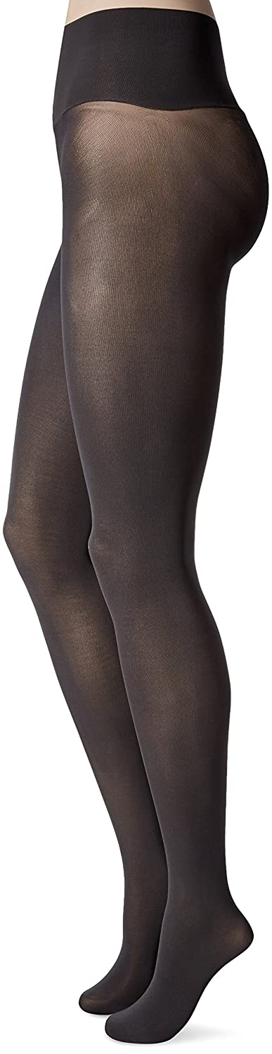 32019736b3ed4 Hanes Women's X-Temp Seamless Tight with Wide Waistband, Grey, Small at  Amazon Women's Clothing store: