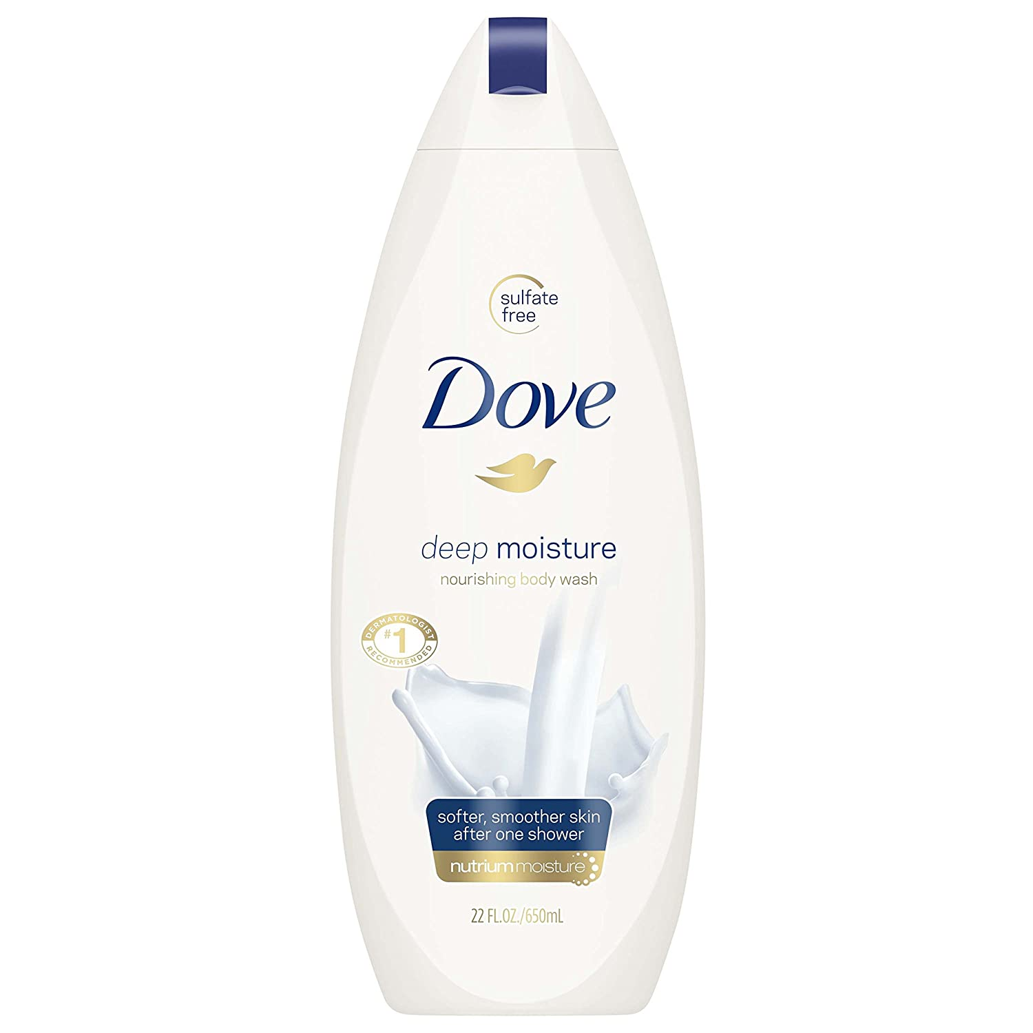 Dove Body Wash, Deep Moisture, 22 oz
