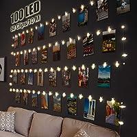 Litogo Clip Cadena de Luces LED, 10m 100