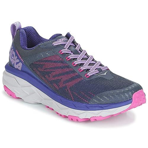 Hoka One - Zapatillas de Running de Sintético para Mujer Negro/Morado: Amazon.es: Zapatos y complementos