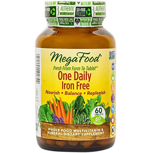 Megafood Vitamins Without Iron