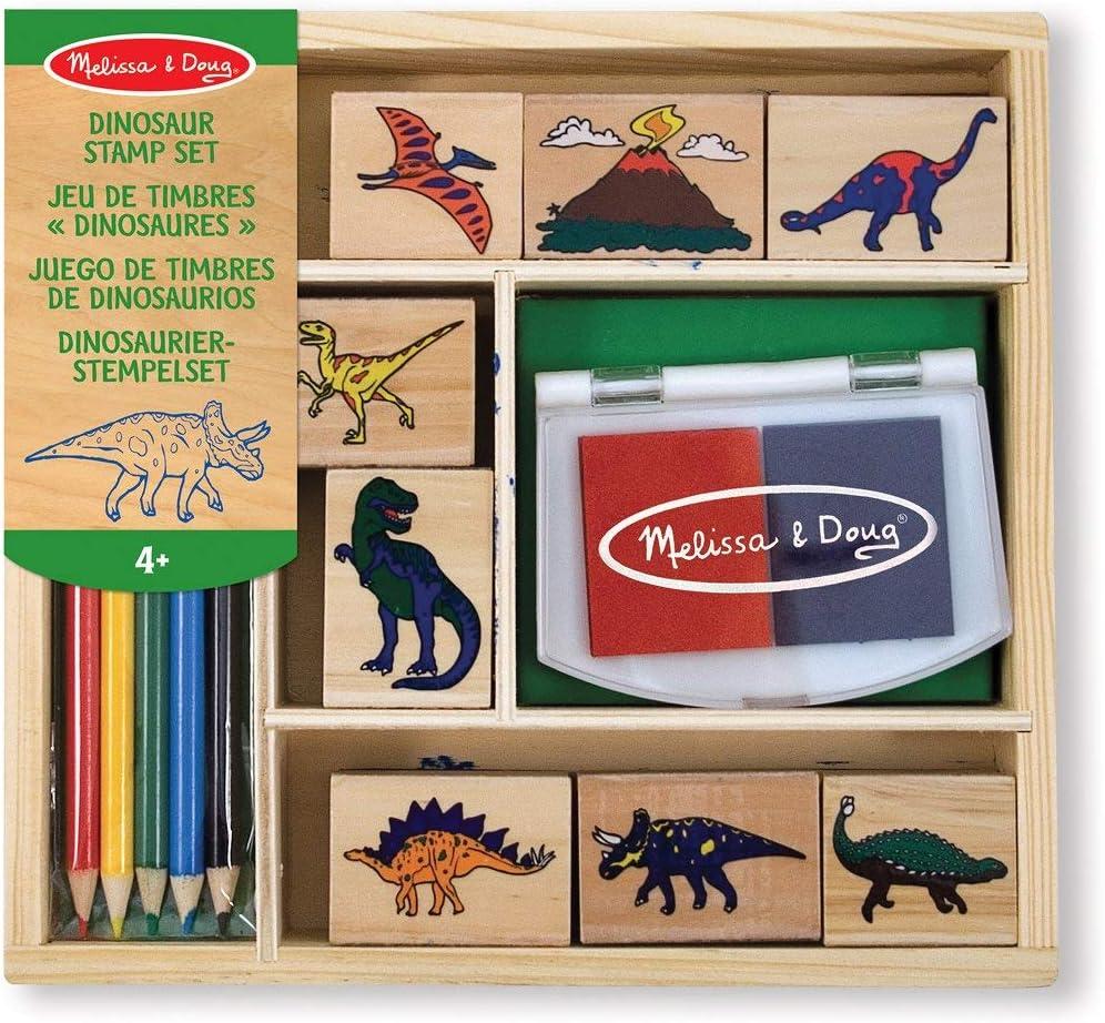 Melissa & Doug Dinosaur Stamp Set (1633)