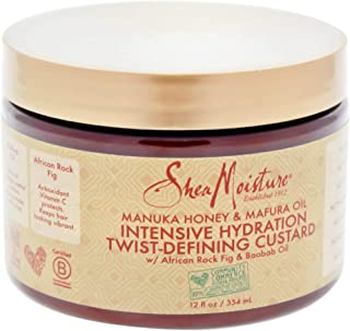 product image for Shea Moisture Manuka Honey & Mafura Oil Twist-defining Custard Moisturizer for Unisex, 12 Ounce