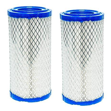 2PK Air Filter for Kubota DF752 DF972 WG752 WG972 Z482 Z602