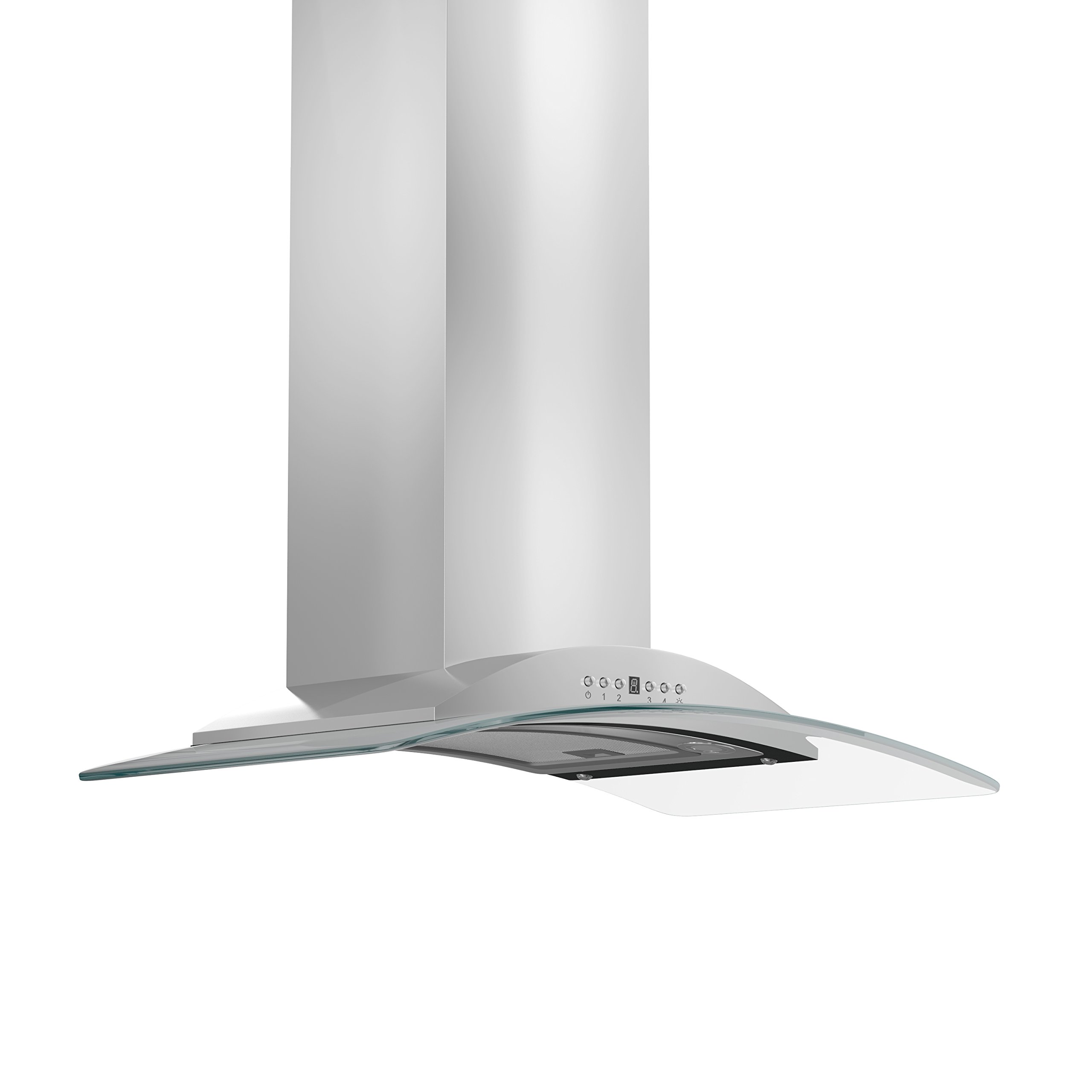 Z Line KN-36 Z Line 760 CFM Wall Mount Range Hood, 36'', /Glass, Stainless Steel