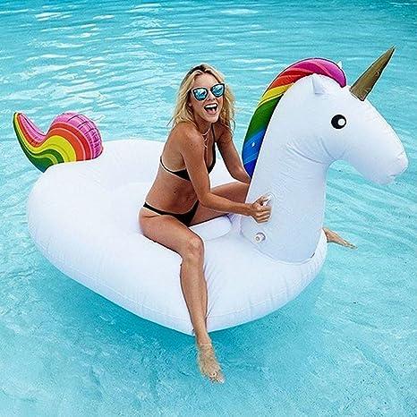 RobotsDeal Pegasus inflable piscina Flotador inflable del juguete del flotador (275cm inflable del unicornio)