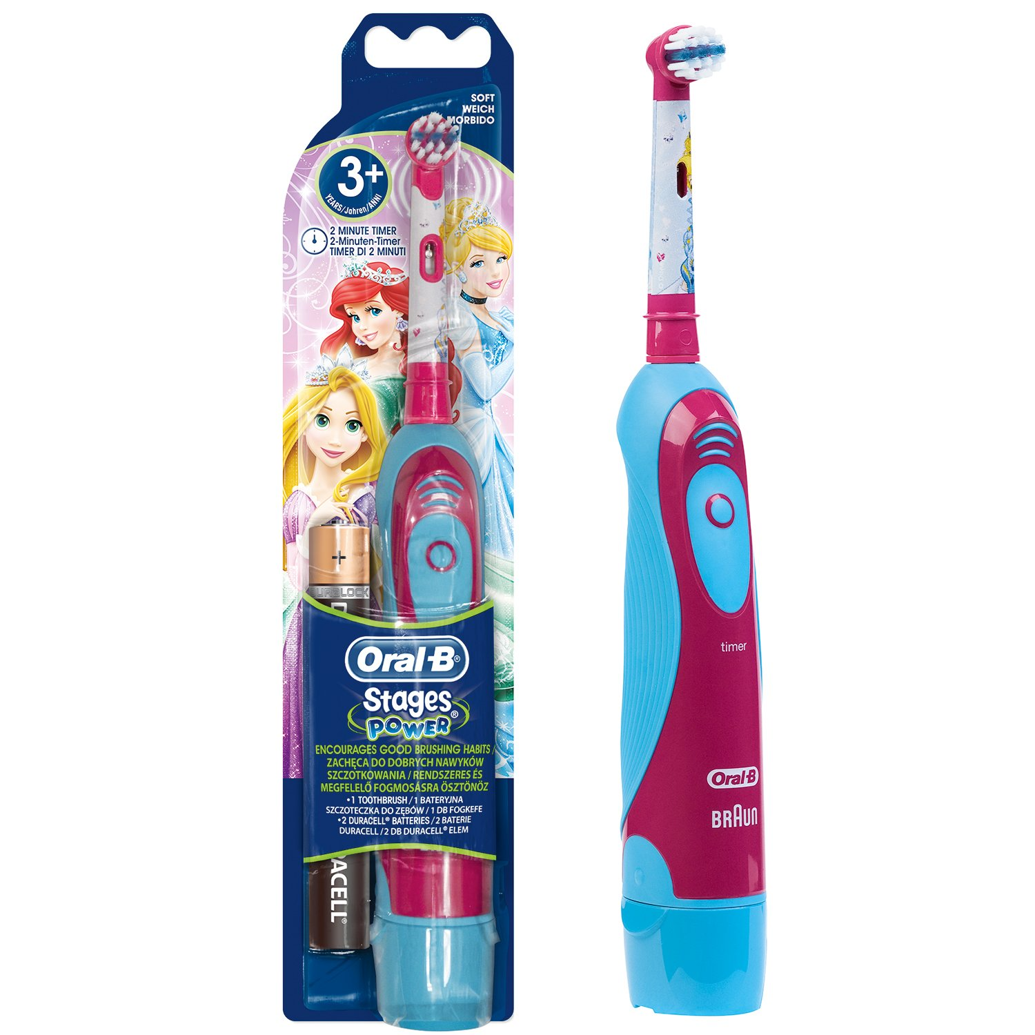 Oral-B Stages Power Battery Princess