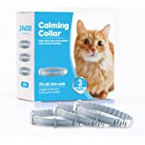 Kaspiu 3 Pack Calming Collar for Cats Pheromone Calm Anxiety Collar for Cats and Kittens Stress Reliever Relaxing Comfortable
