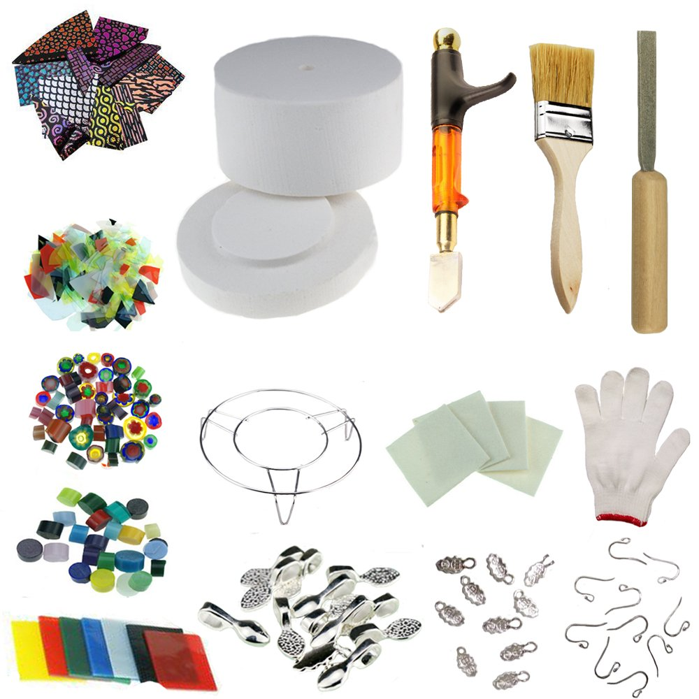 Extra Large Microwave Kiln Kit 15 Piece Set for DIY Jewelry Making Tools by Love Charm