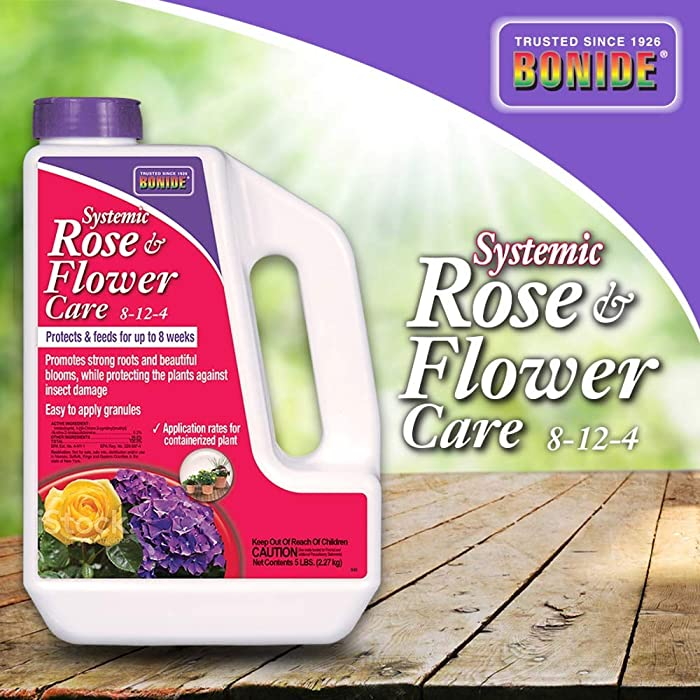 Top 10 Rose Food And Insecticide