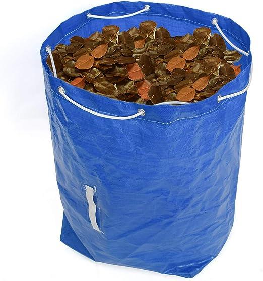 Garden Bags Plegable Sacos De Jardín Profesional Alta Capacidad Bolsas De Basura De Jardín con Asas, para Jardín, Patio, Hojas, Césped, Alberca, Jardín: Amazon.es: Hogar