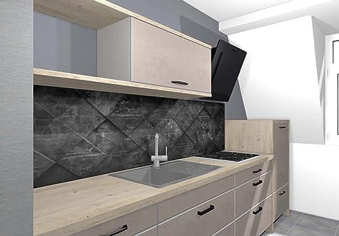 küchenrückwand nischenverkleidung fliesenspiegel perfekt für