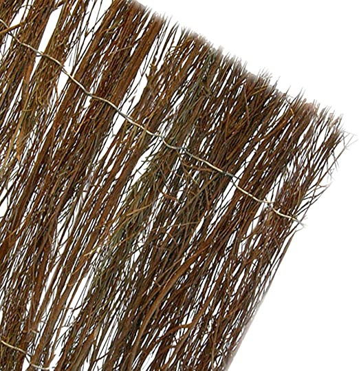 BREZO NATURAL COLOR MARRON OSCURO MEDIDAS 1, 5X5M (85% OCULTACION): Amazon.es: Jardín