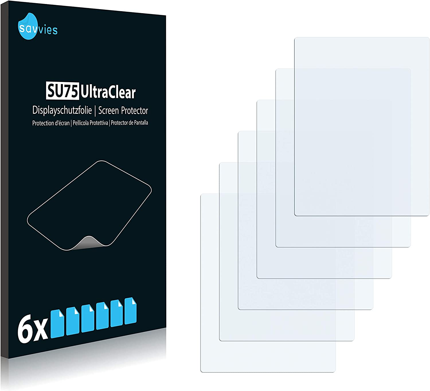 ultra clear, very simple assembly 6x Savvies SU75 UltraClear Screen Protector for FujiFilm Instax Mini LiPlay