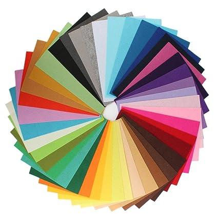 westeng Mix 42 colores poliéster tela de fieltro hoja Patchwork para costura DIY Craft Trabajo 20 * 30 cm 1 mm de grosor