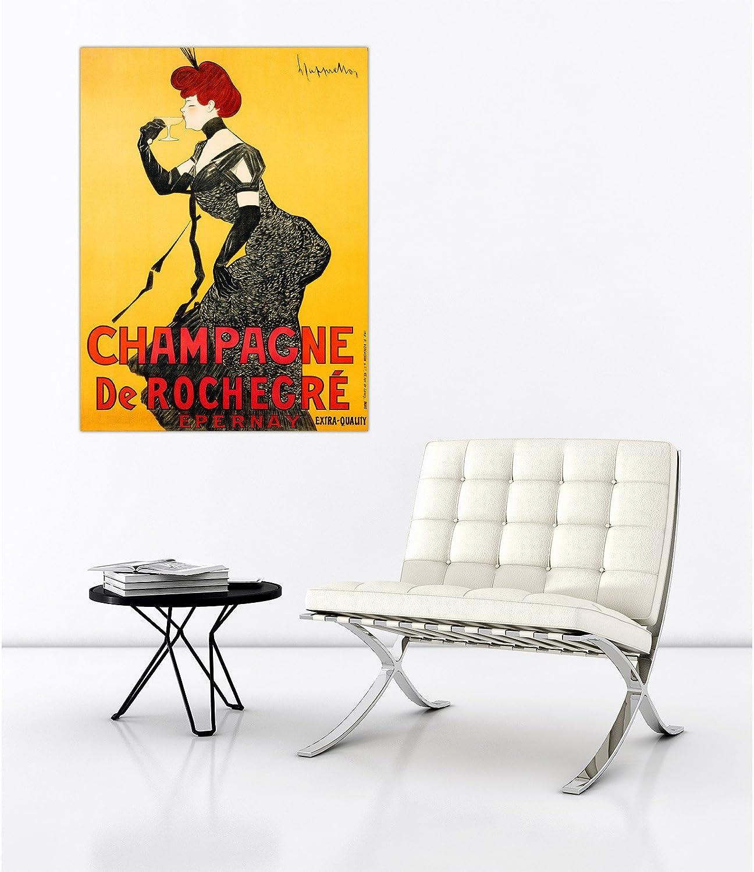 Rahmen Druck auf Leinwand mit Keilrahmen Leonetto Cappiello Champagne Champagne Champagne de Rochegré, ca. 1902 120x90 CM B07BT7QQDS | Passend In Der Farbe  c93e6f