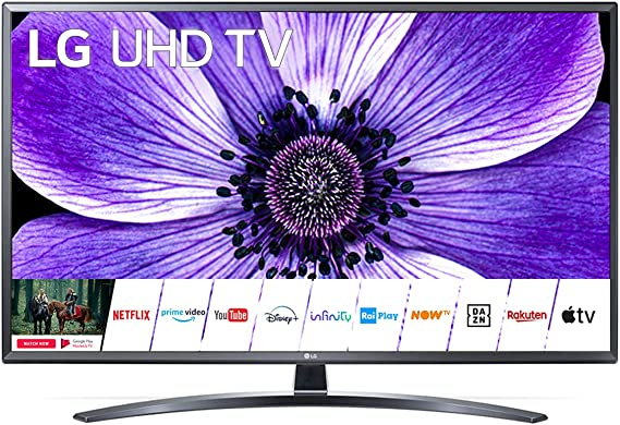 Smart TV LED 49 pulgadas, 4K, DVB-T2, WiFi, Bluetooth: Amazon.es: Electrónica