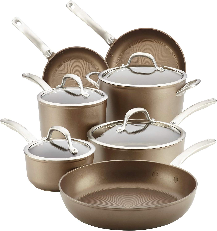 Circulon Ultimum 11 Piece Forged Aluminum Nonstick Cookware Set
