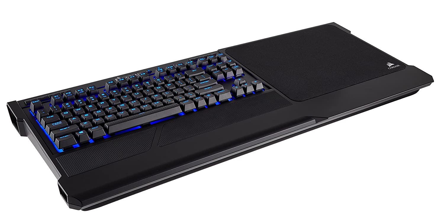 CORSAIR K63 Wireless Special Edition Mechanical Gaming Keyboard, Backlit Ice Blue Led, Cherry MX Red - Quiet & Linear CH-9145050-NA