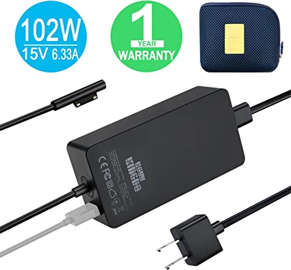 Book 2 1798 OEM 15V 6.33A 102W AC Charger Adapter For Microsoft surface Book